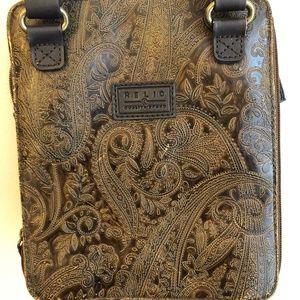 Relic Shoulder Crossbody Bag Purse- Brown